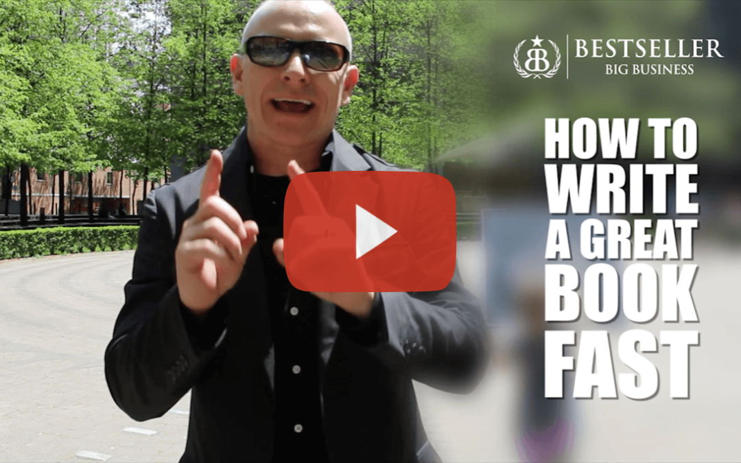 How To Write A Great Book Fast