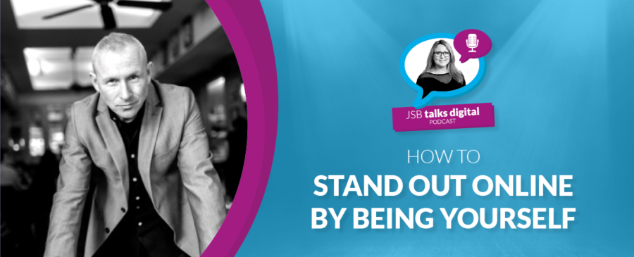 How to Stand Out Online by Being Yourself