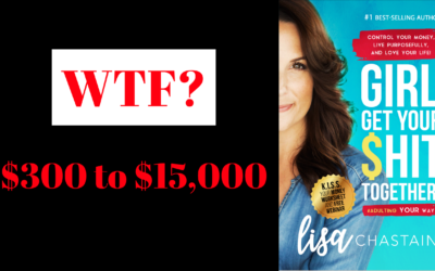 WTF? – $300 to $15,000 a month?!?