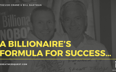 A Billionaire's Formula For Success…