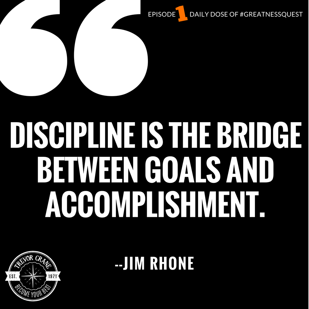 1 Why Is An Everyday Discipline So Important Business Advisor