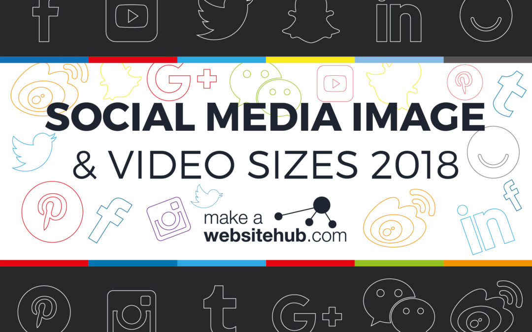 2018 Social Media Image Sizes Cheat Sheet