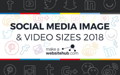 2018 Social Media Image Sizes Cheat Sheet