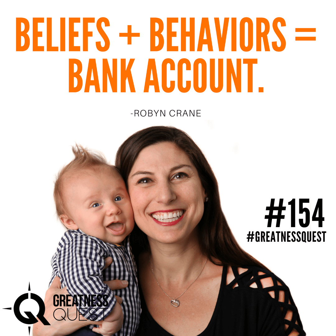 Beliefs + Behaviors = Bank Account.