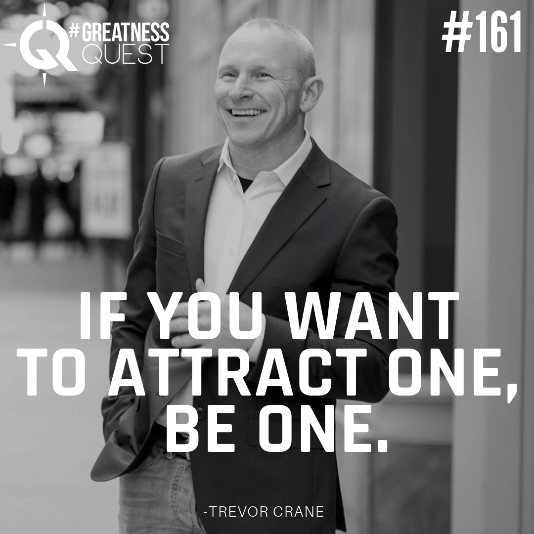 If you want to attract one, be one.