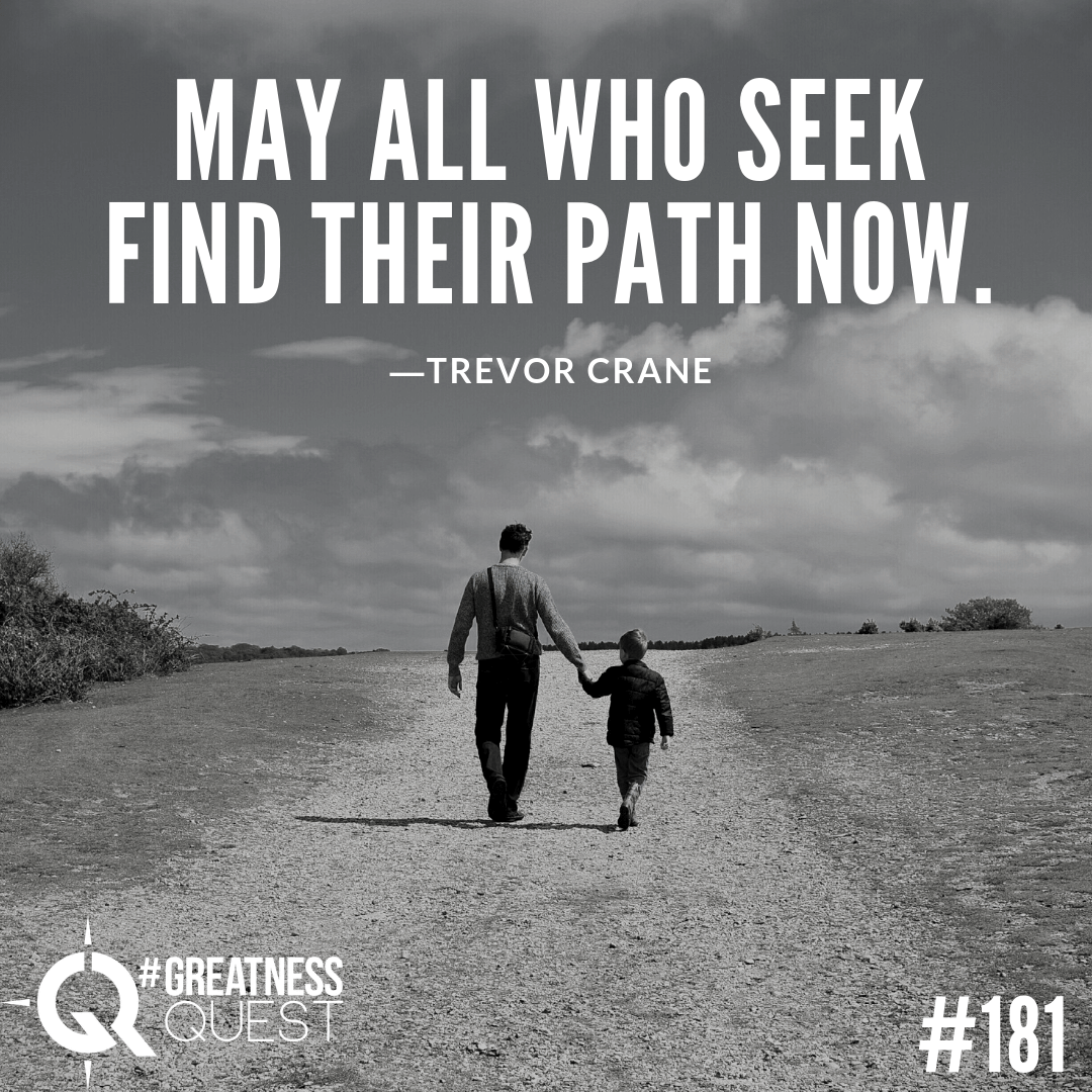 May all who seek find their path now.