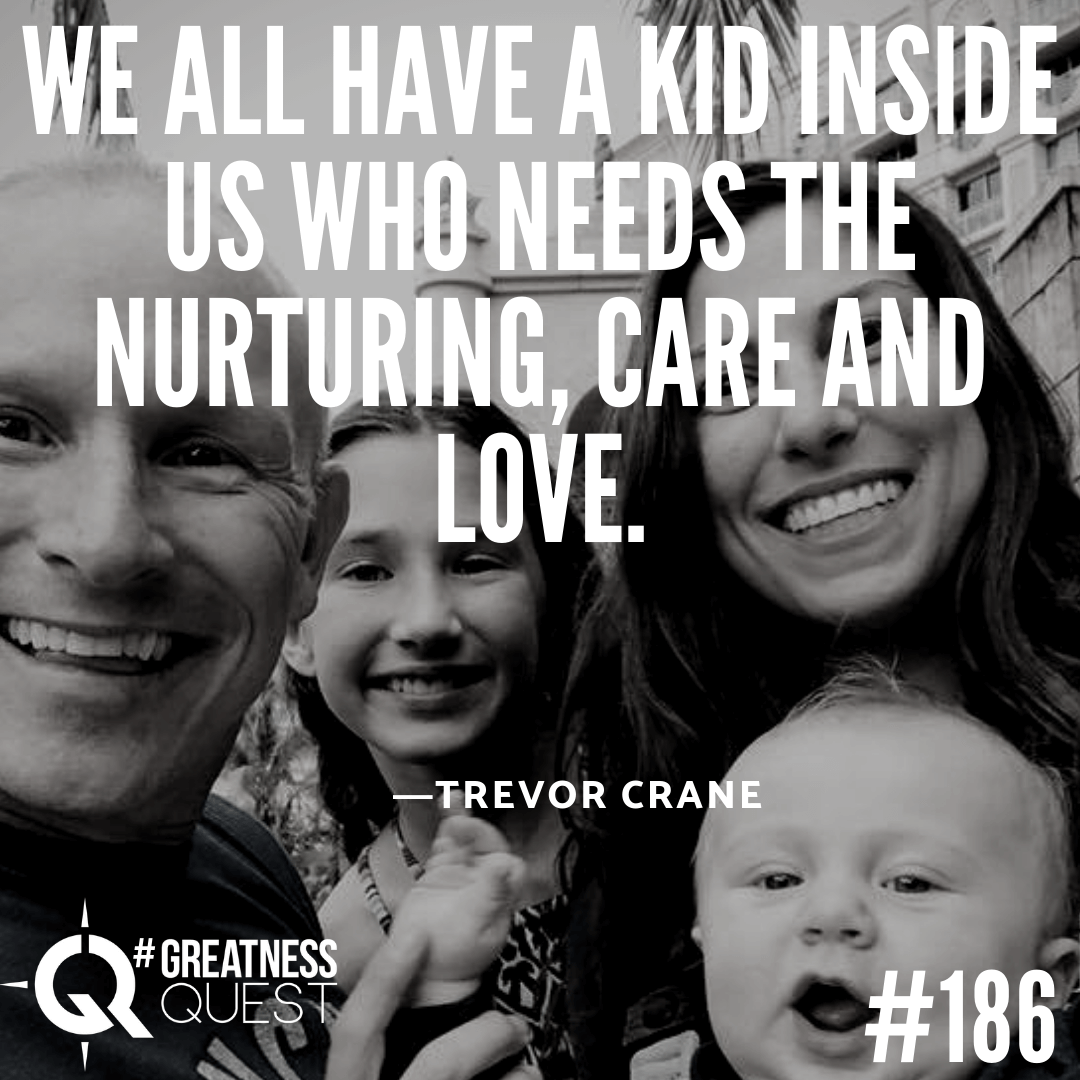 We all have a little kid inside us who needs some nurturing, care and love.