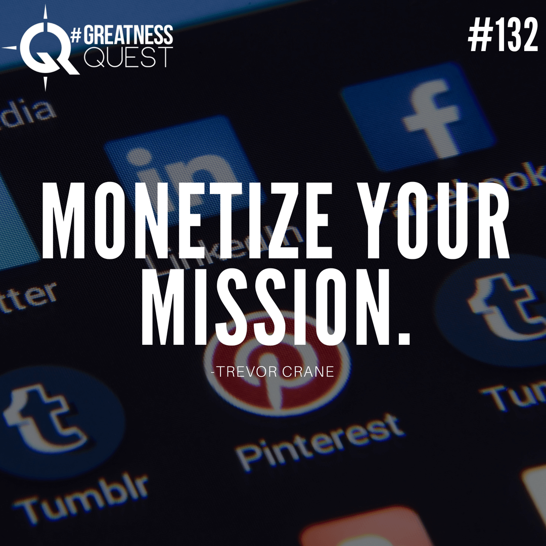 Monetize your mission.