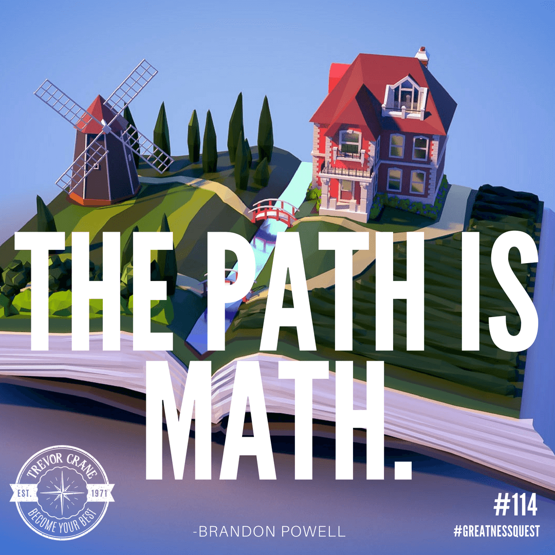 The path is math