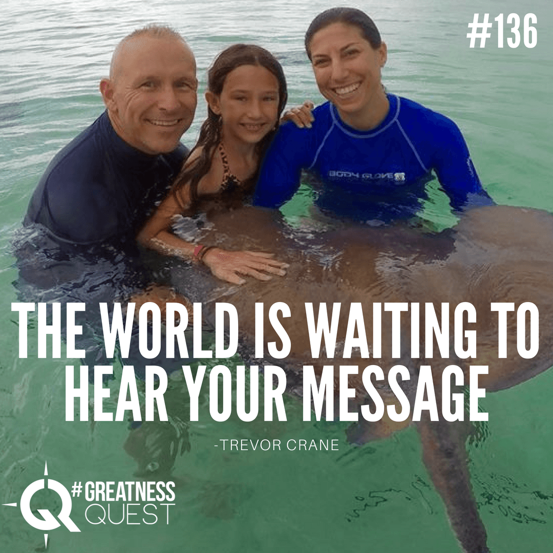 The world is waiting to hear your message.