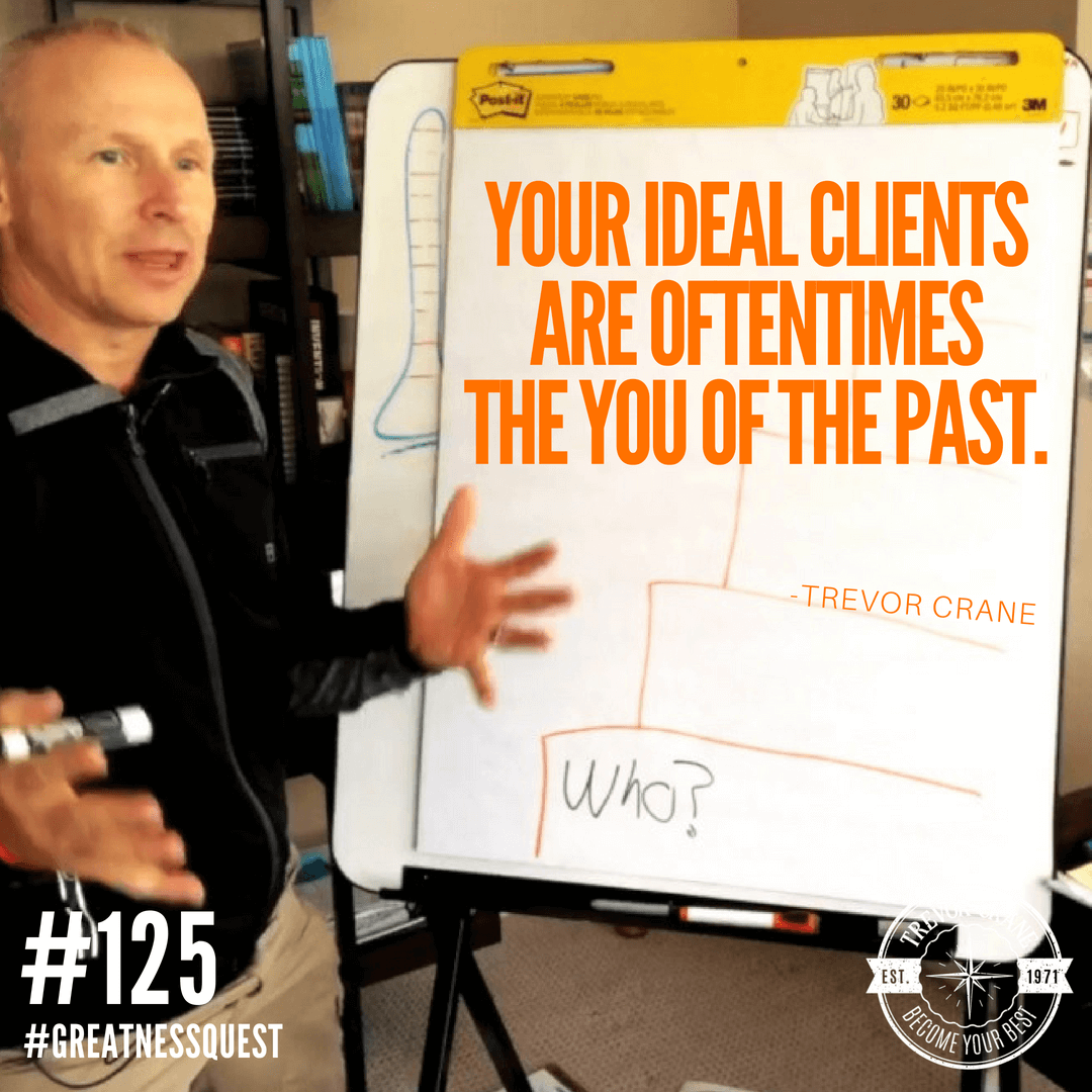 Your ideal clients are oftentimes the you of the past